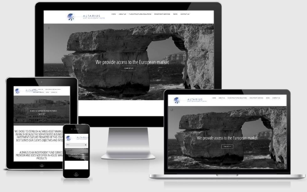 Sitio Web de Altarius