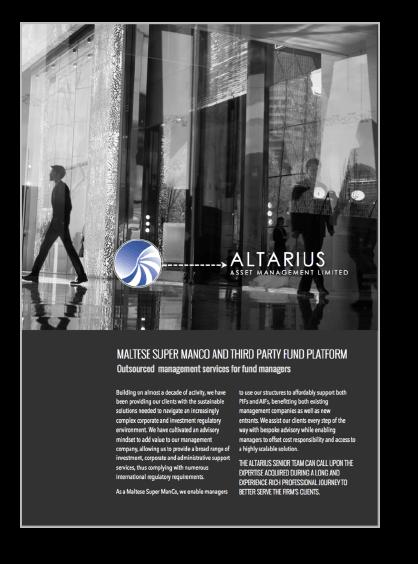 Altarius' Presentation