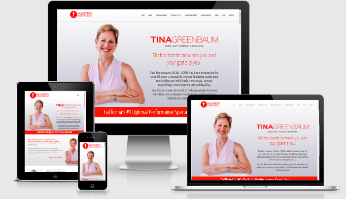Sitio Web Tina Greenbaum'