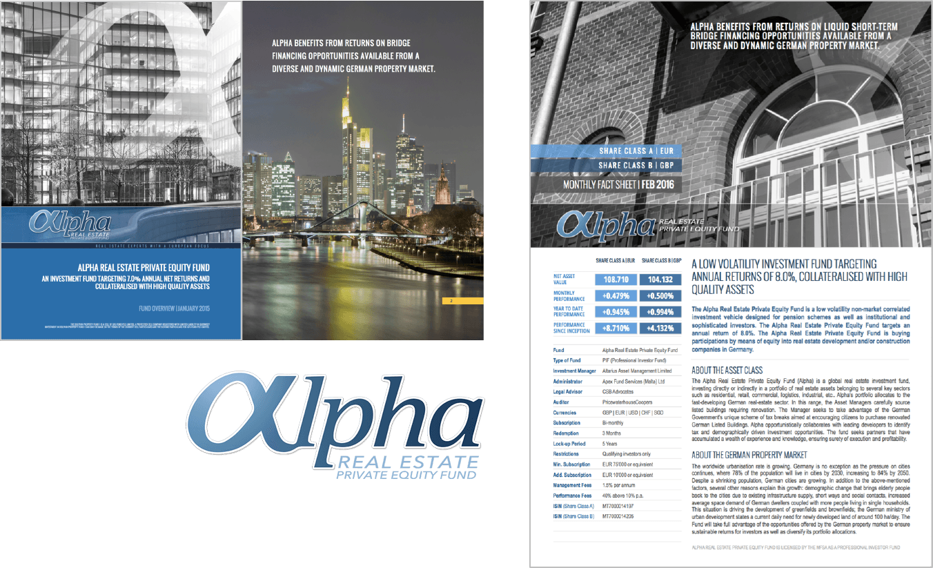 Alpha Real Estate's Ebook and Presentation