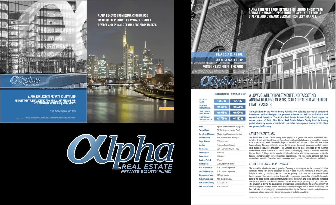 Alpha Real Estate's Ebook and Presentation