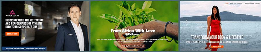 Ejemplo de sitios web
